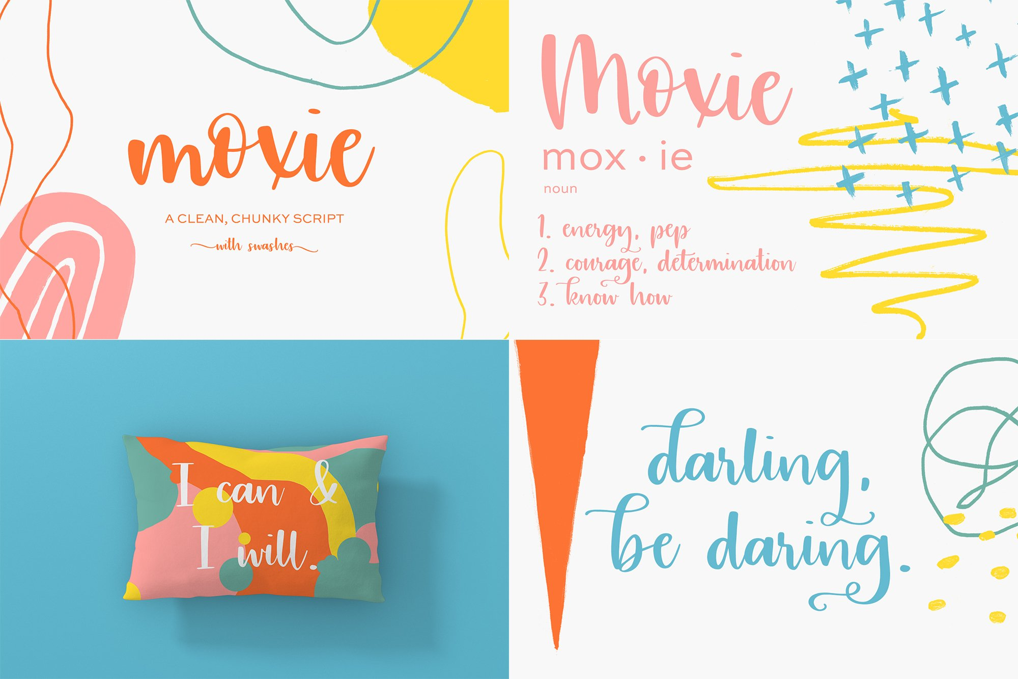 The Chic Calligraphy Font Bundle example image 6