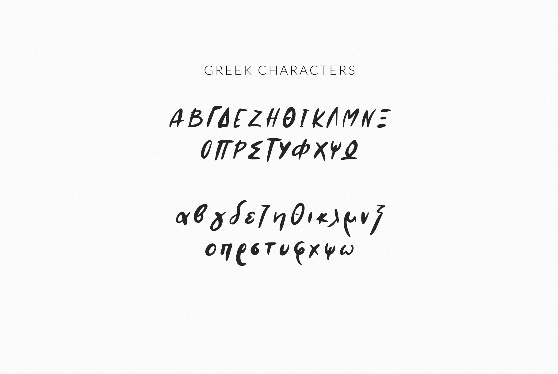 AMA Greek and Latin Font example image 6
