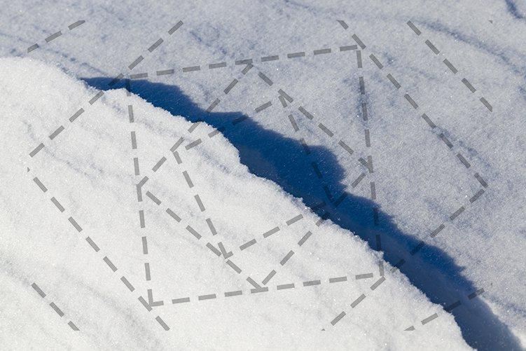 deep snow drifts example image 1