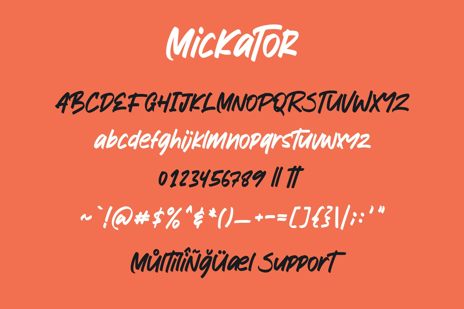 Mickator Stylish Display Font example image 4