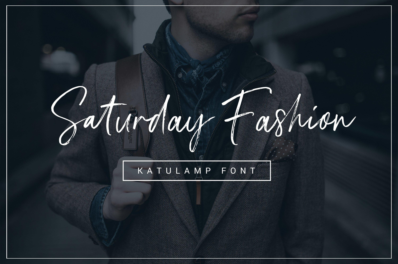 Katulamp Font Duo example image 5