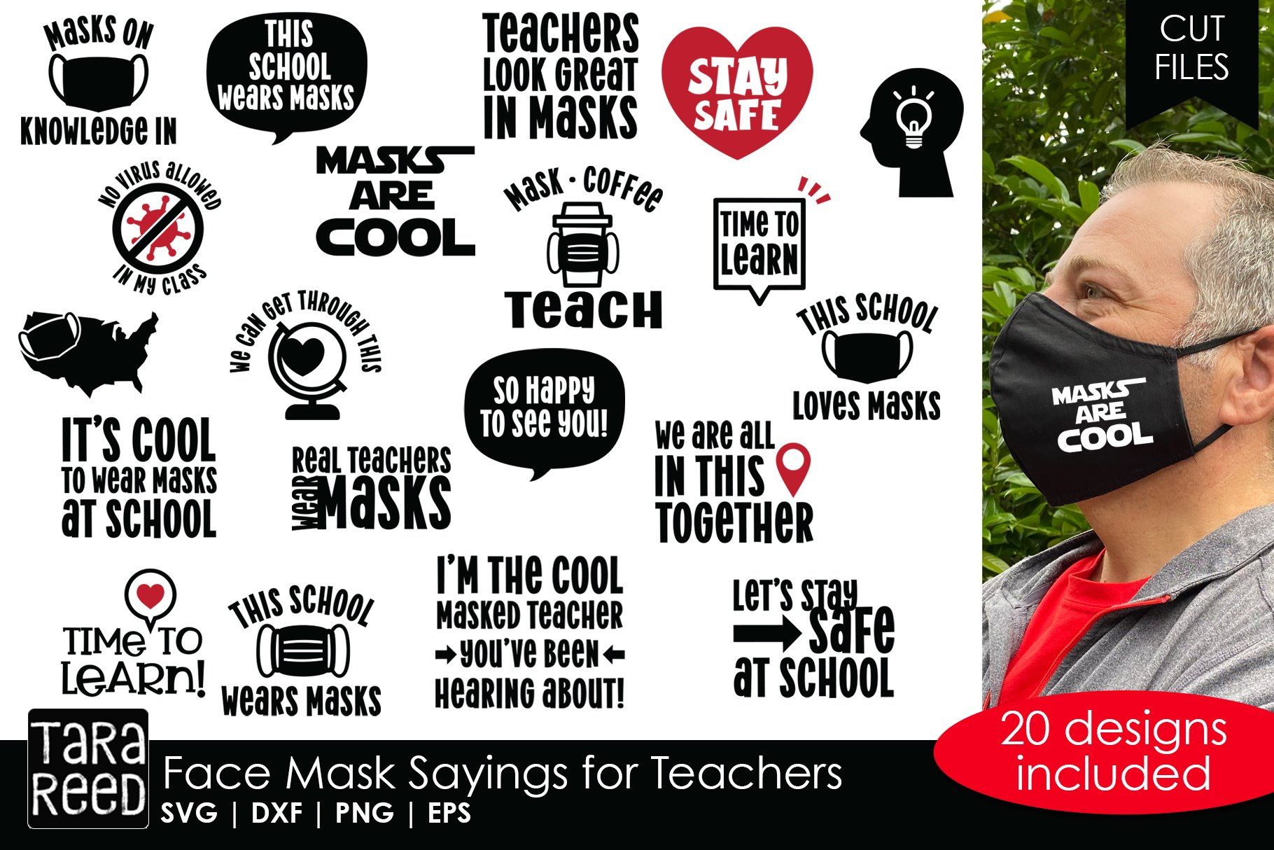 Face Mask Sayings For Teachers Svg And Cut Files 793094 Cut Files Design Bundles