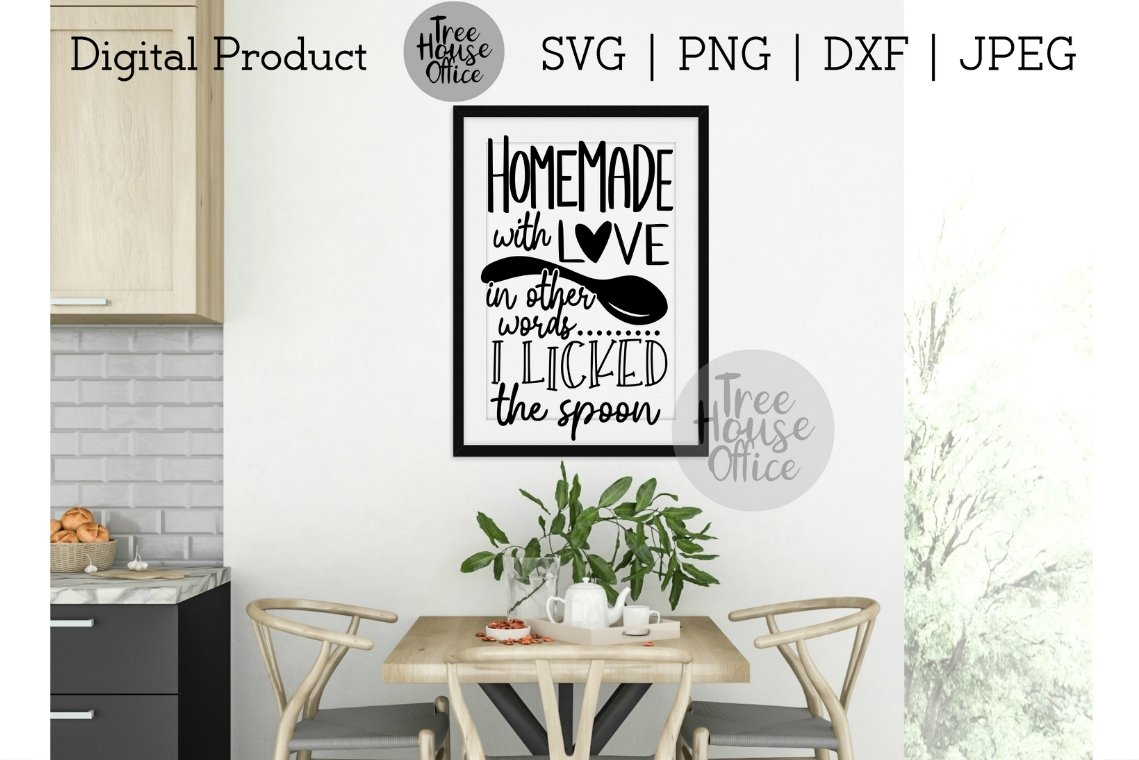 466+ Homemade With Love Svg File