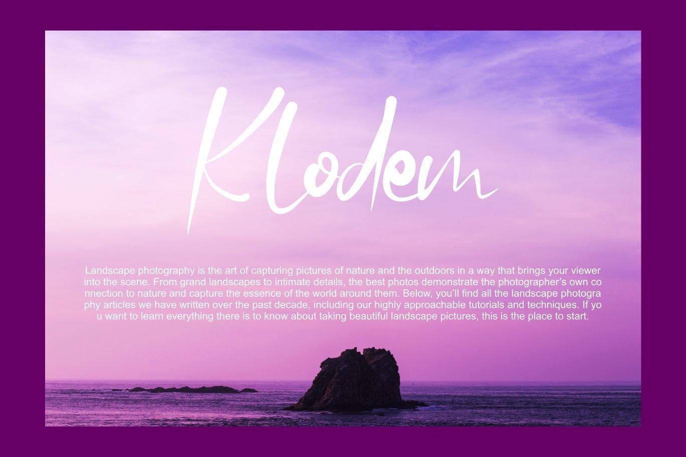 Wipela   Modern Unicotype Font example image 3