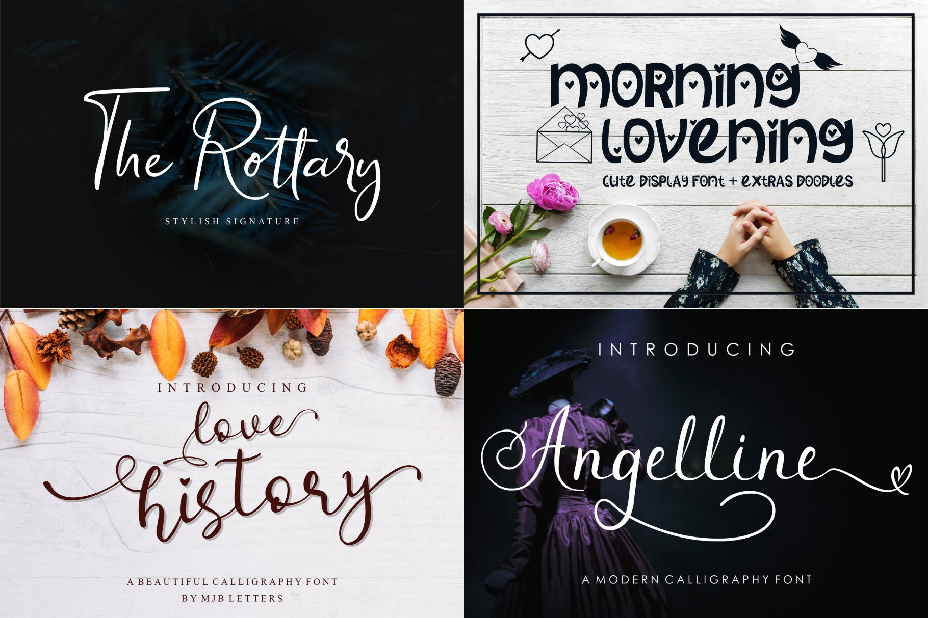 BIG BUNDLE - BEST FONT COLLECTIONS example image 5