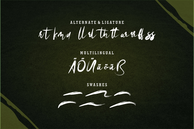 Artoll - New Brush Font example image 5