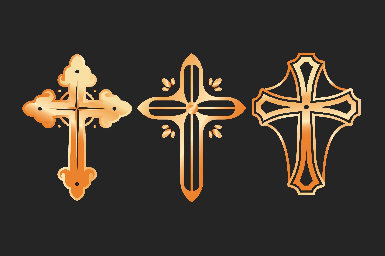 Christian Cross Illustrations example image 1
