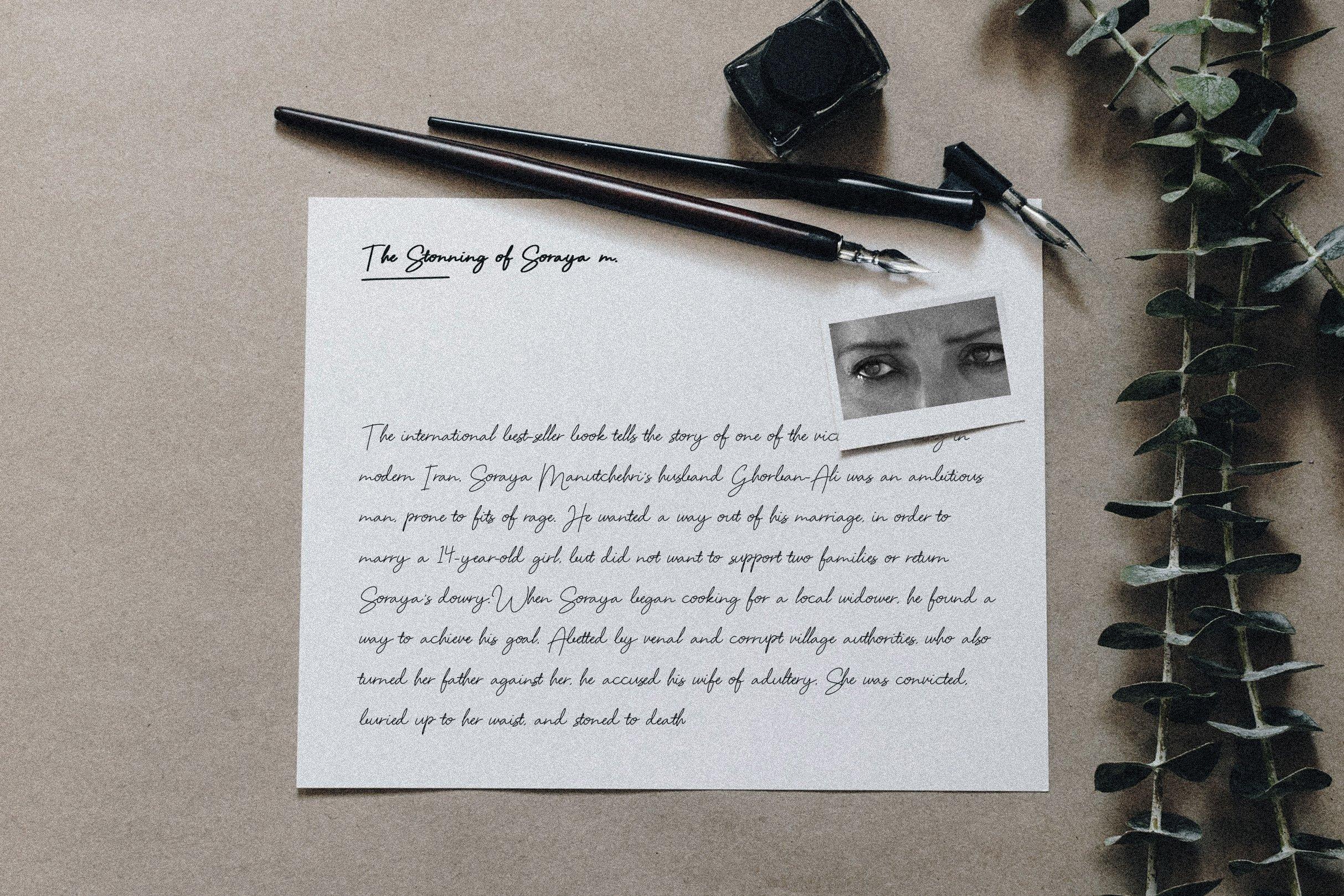 Soft Touch Signature Script Font example image 6