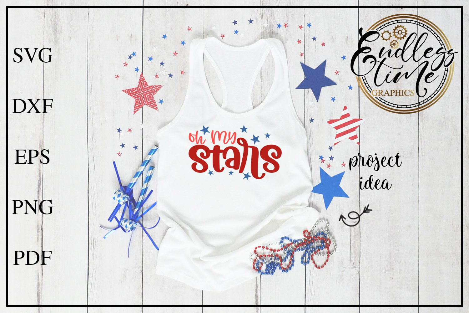 4th of July Bundle Volume 3 | A Red White & Blue SVG Bundle example image 10