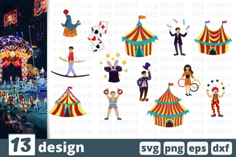 13 Circus Svg Bundle Circus Tent Svg Circus Clipart 575390 Cut Files Design Bundles