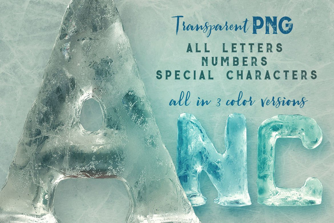 Ice Ice Baby - 3D Lettering example image 3
