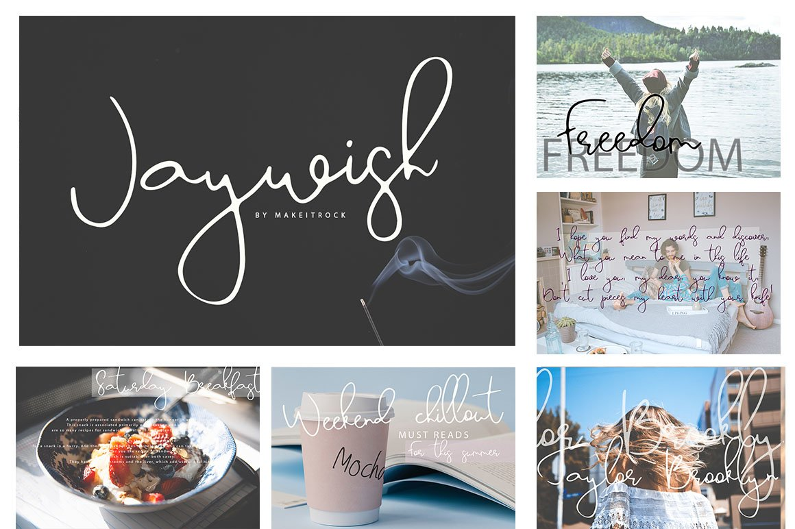 Font Bundle 70 in One example image 10