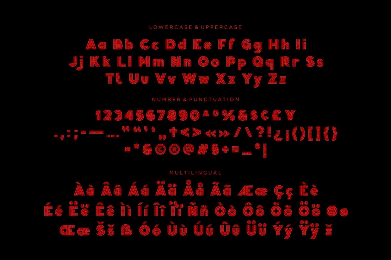 Winslow - Stylish Display Font example image 3