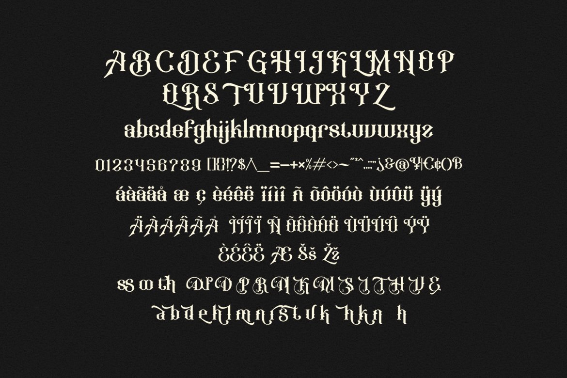 Anthique - Vintage Typeface example image 10