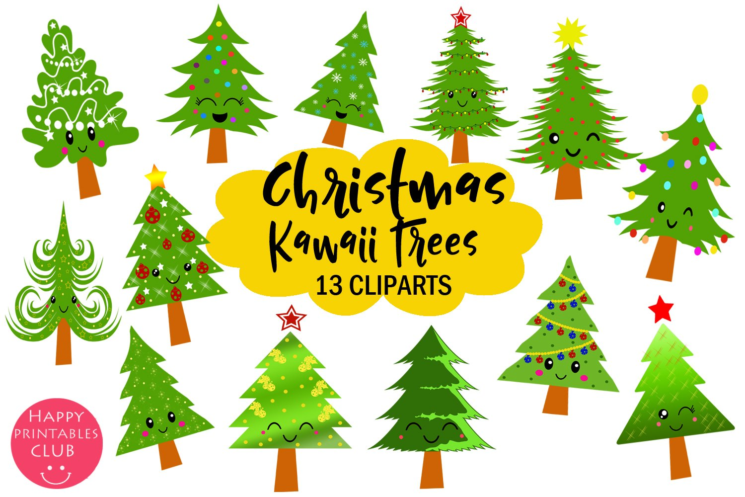 Merry Christmas Gifs And Clipart - Clipart Christmas Tree - Png Download  (#1354155) - PinClipart