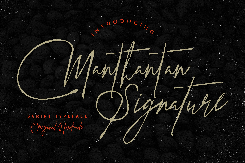 Manthantan Signature example image 1