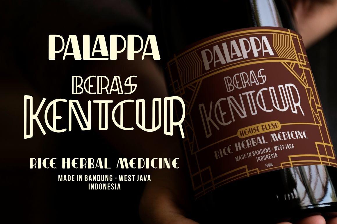 Indentia - Art Deco Typeface example image 2