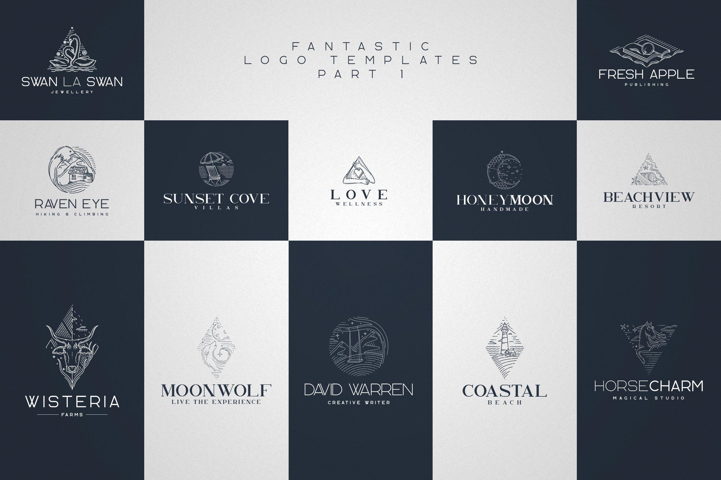 Kavo Family - 17 fonts 24 logos example image 3