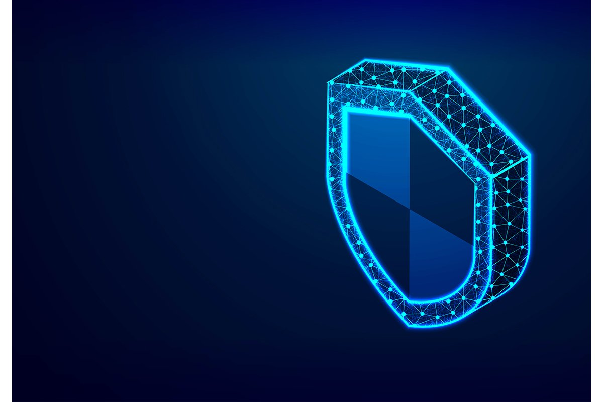 Isometric Shield. Security, safe, privacy Concept. Abstract example image 1