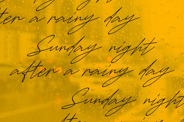 Gammeth - A Stylish Script Font example image 6