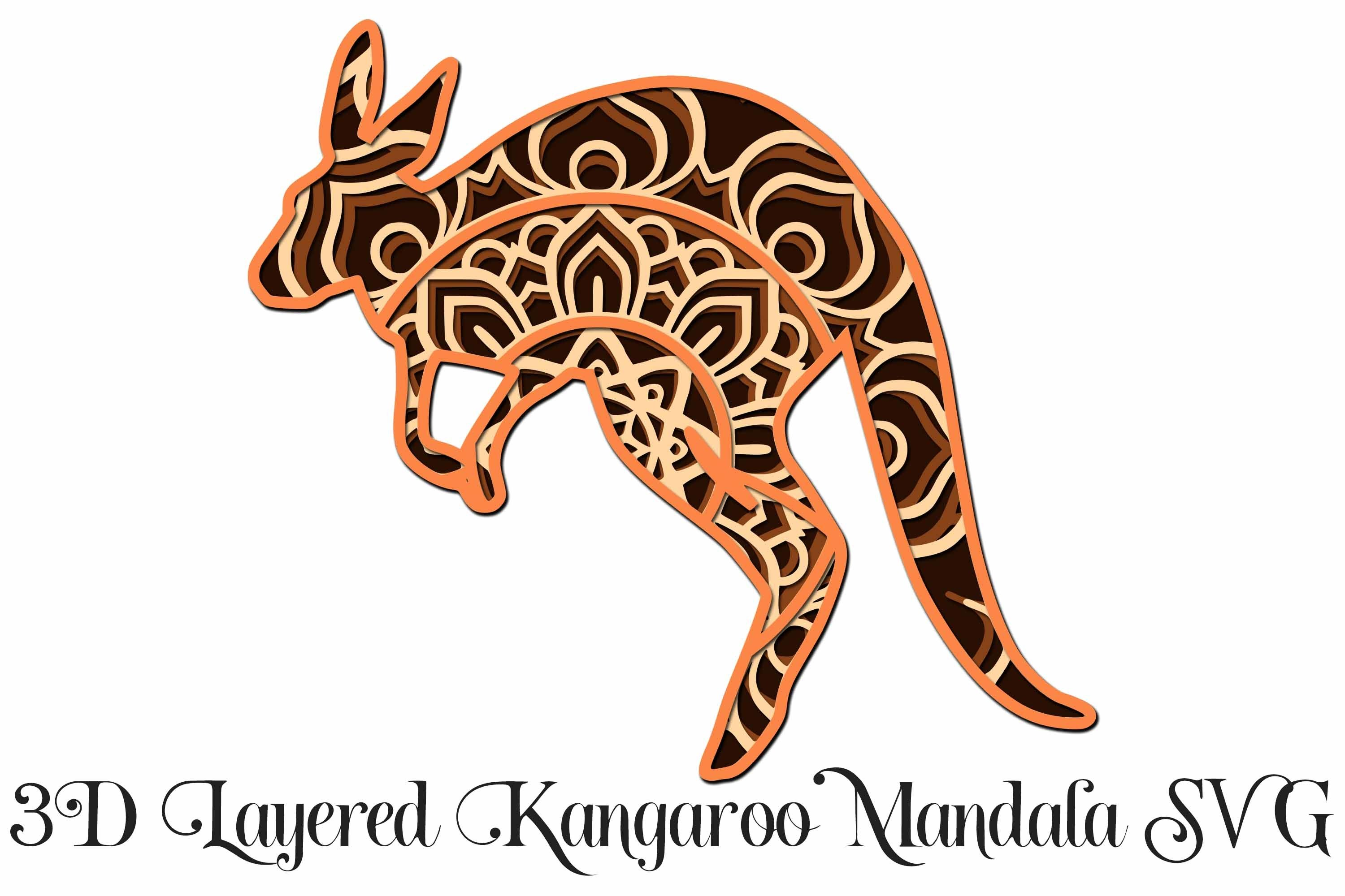 2095+ Free 3D Layered Animal Mandala Svg – SVG,PNG,EPS & DXF File Include