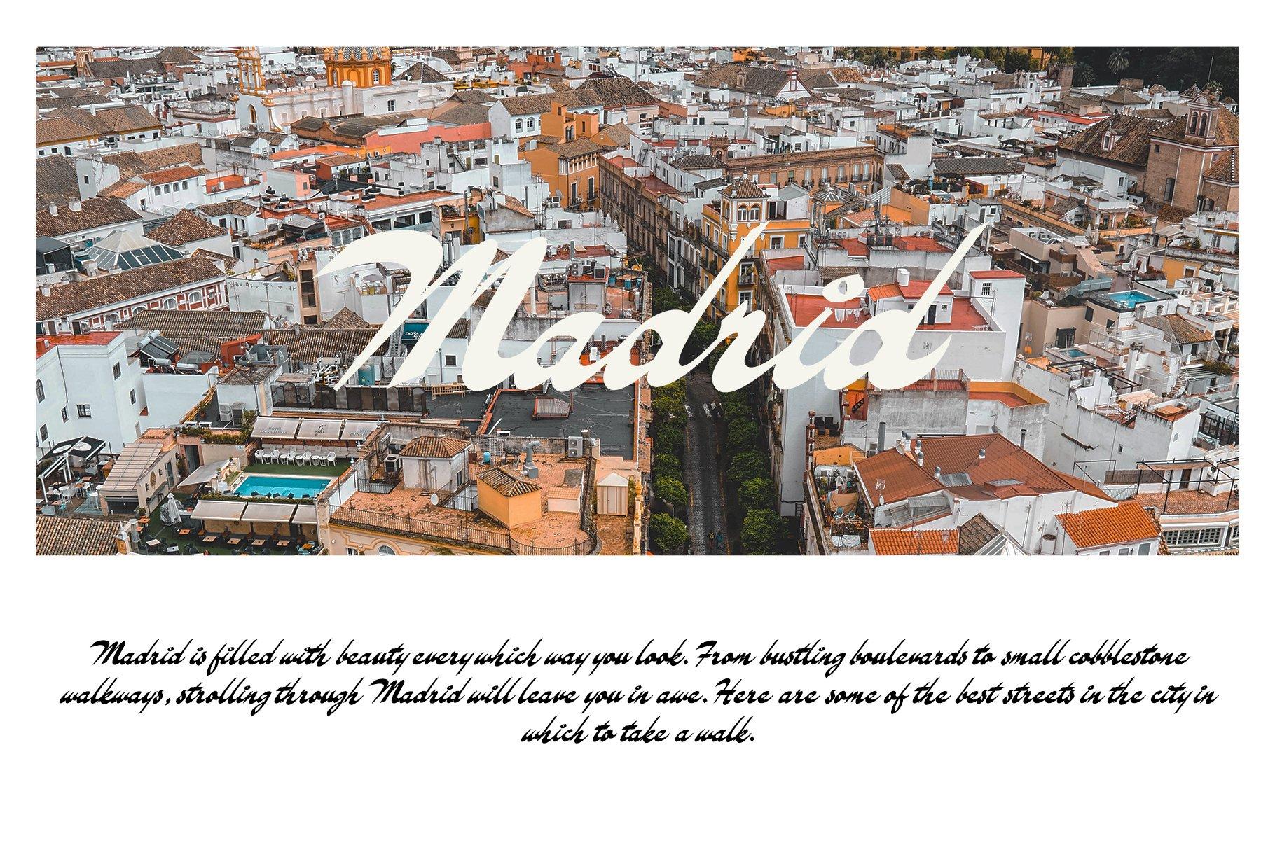 Logrono Typeface example image 13