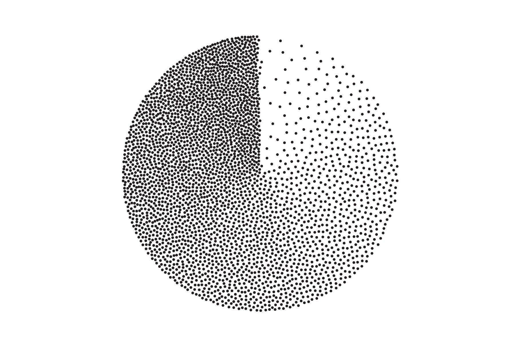 Abstract Geometric Shape Vector. Film Grain, Noise example image 1