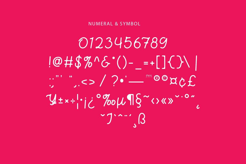 Bhamious - Monoline Script Font example image 7