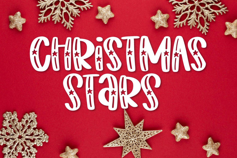 Starwish - A Shooting Star Font example image 6