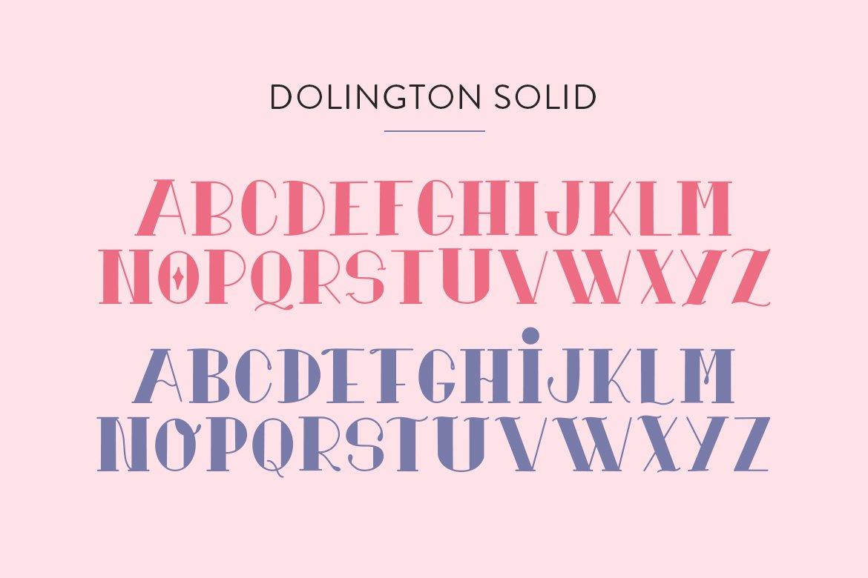 Dolington Font Duo example image 5