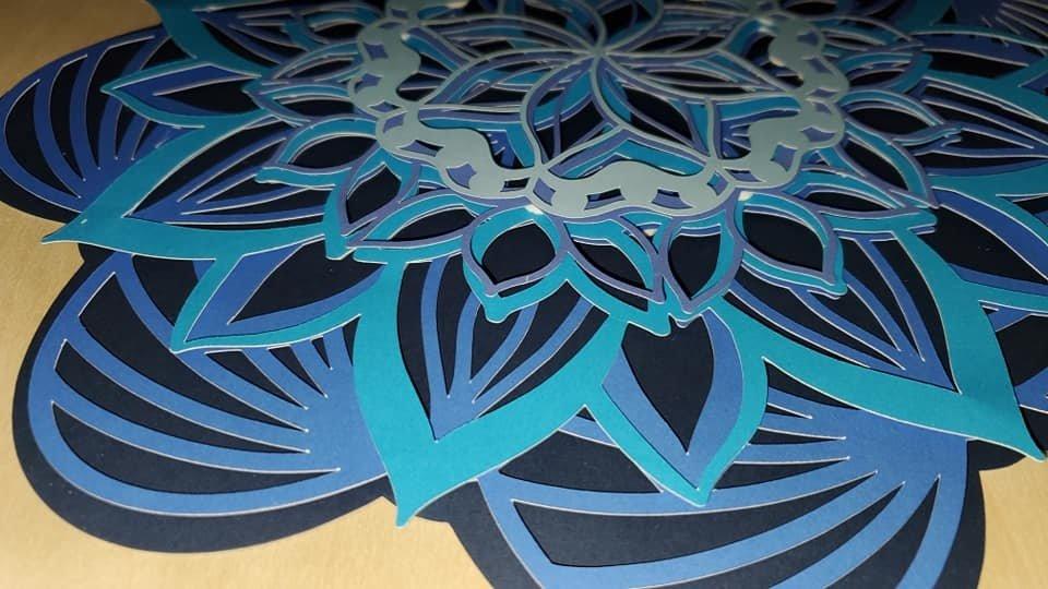 Download 3D Mandala Layered Design | Floral Multilayered Mandala ...