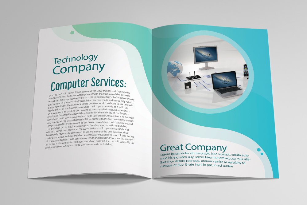 Business Catalogue Brochure 16 Pages example image 4