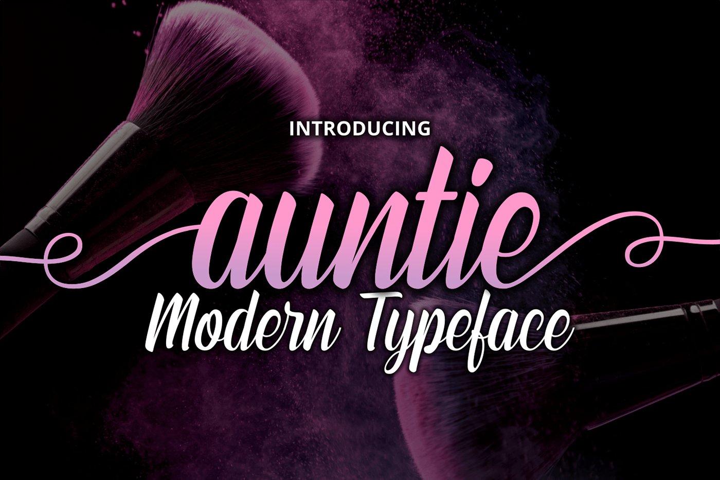 Auntie example image 1