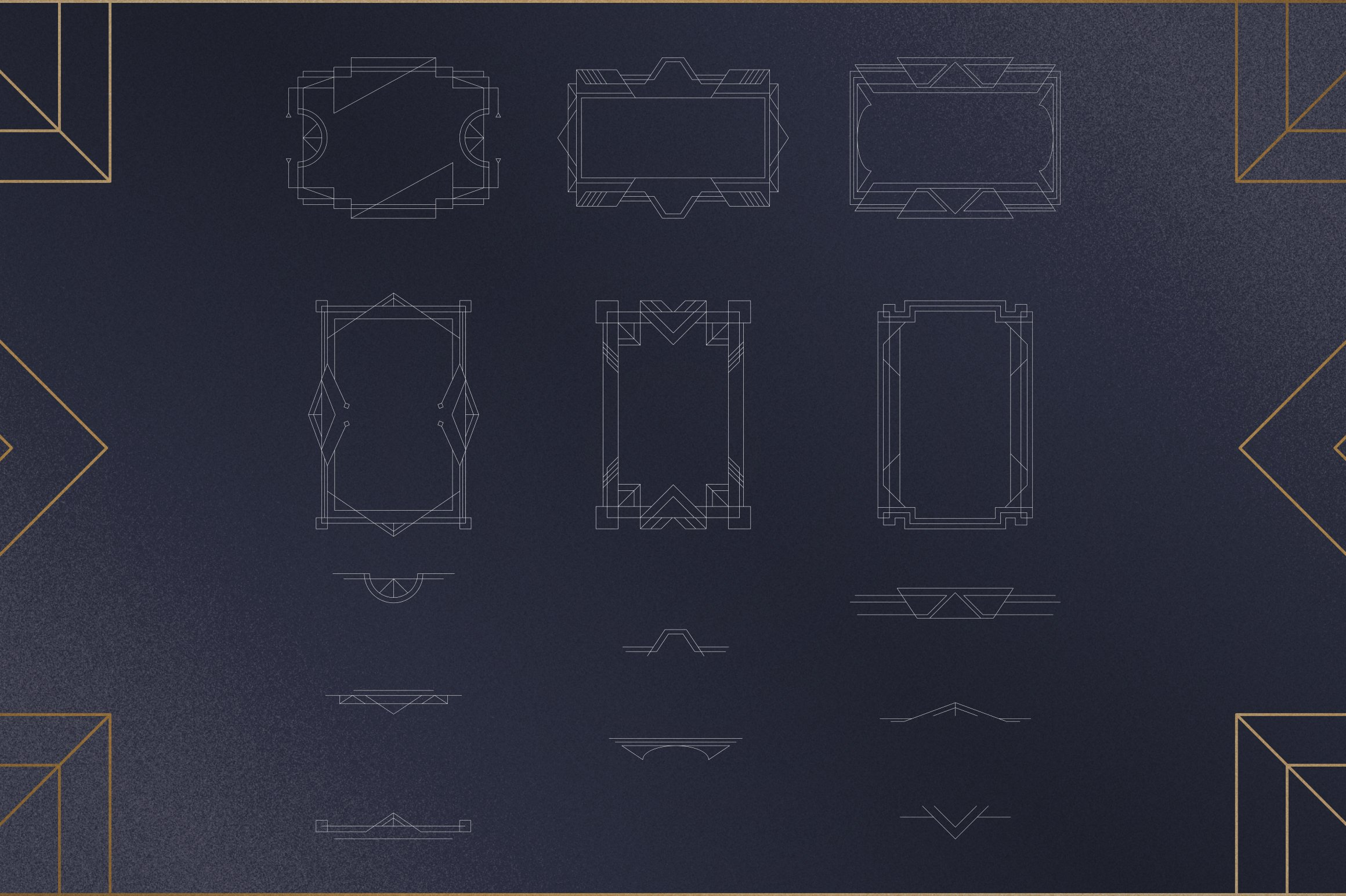 Akros - Art Deco Serif Extras example image 4