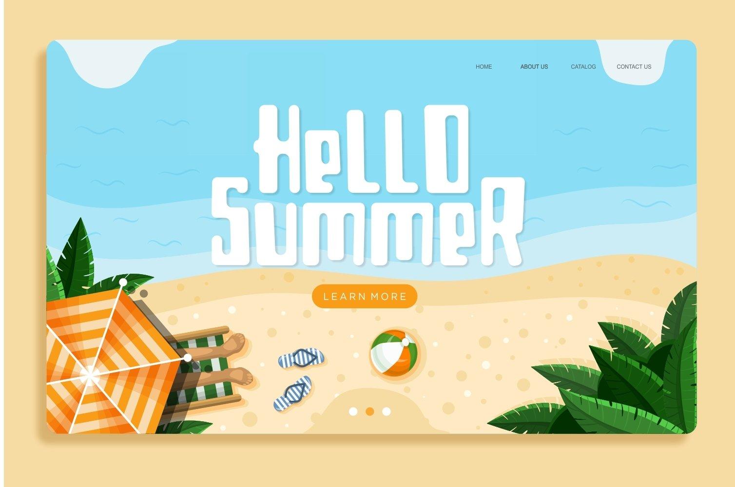 Borjue - Summer Display Font example image 4