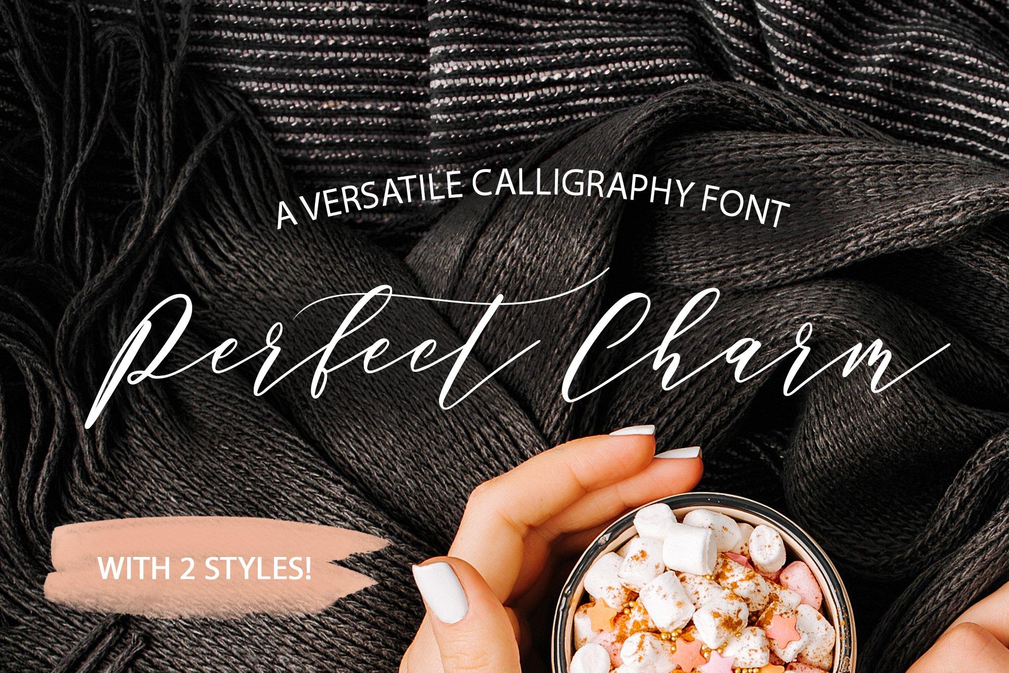 Perfect Charm - Elegant Font Script example image 1