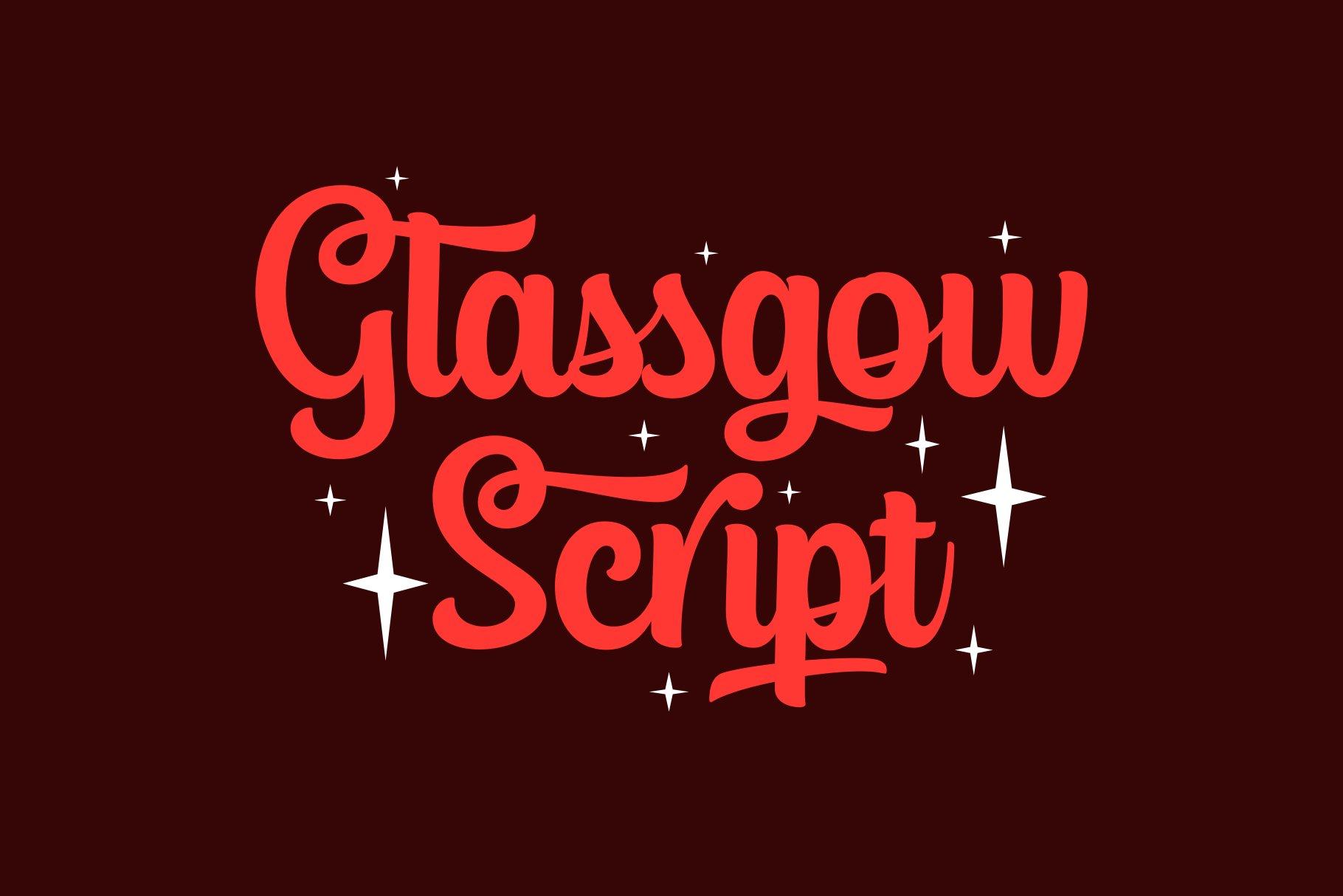 Glassgow Script example image 1