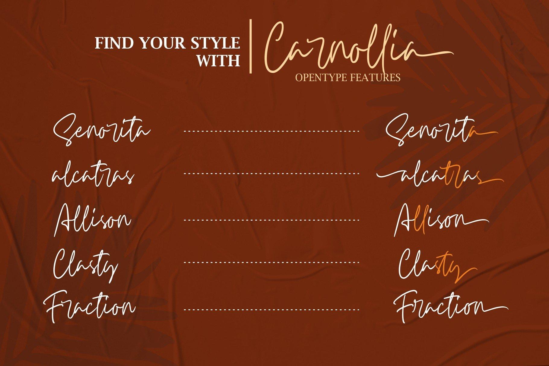 Carnollia Signature example image 5