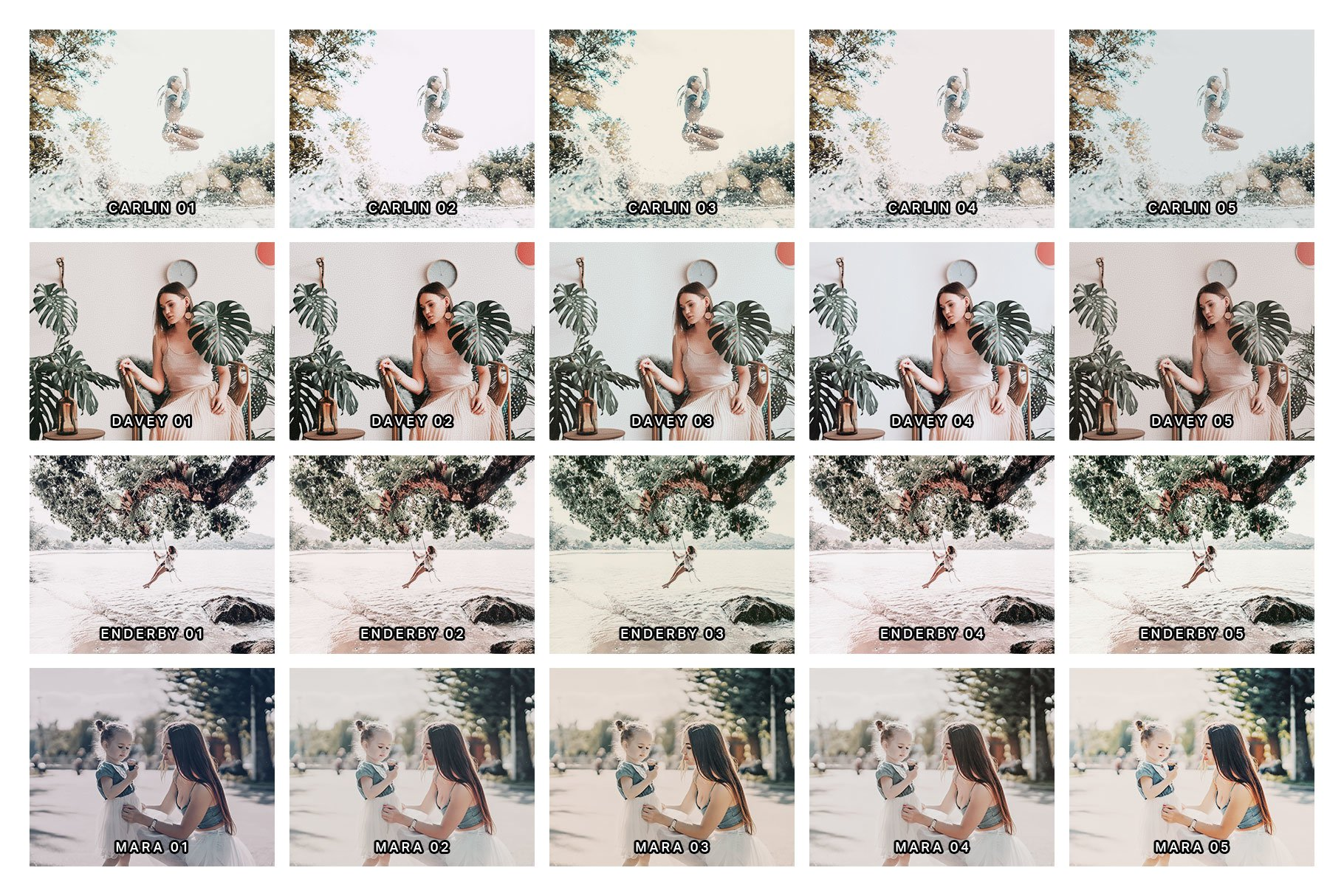 20 Palm White Lightroom Presets and LUTs example image 9