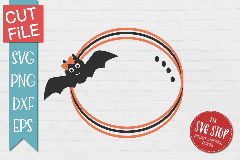 Bat Monogram Frame Svg Png Dxf Eps 339938 Svgs Design Bundles