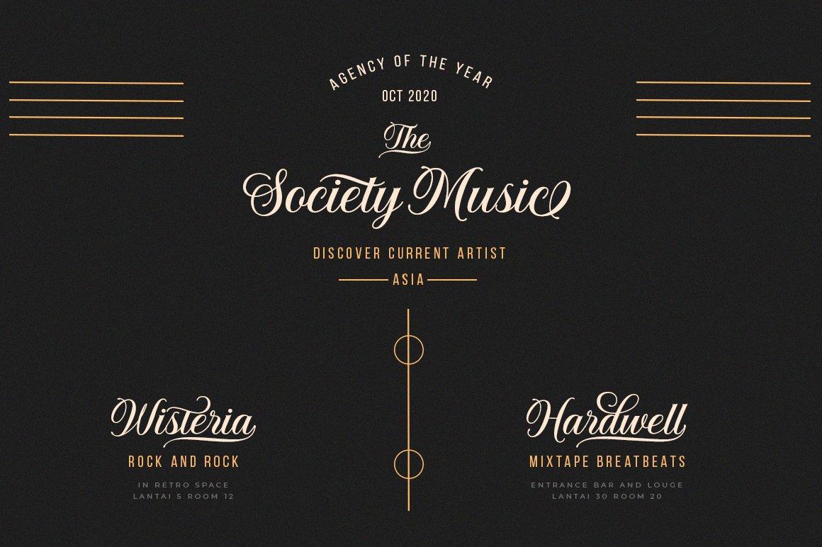 Solistaria-Elegant Calligraphy Font example image 10