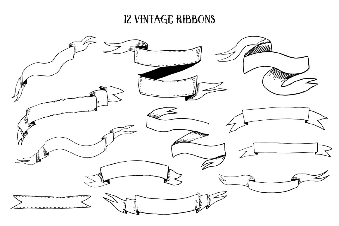 Vector Vintage Elements example image 5