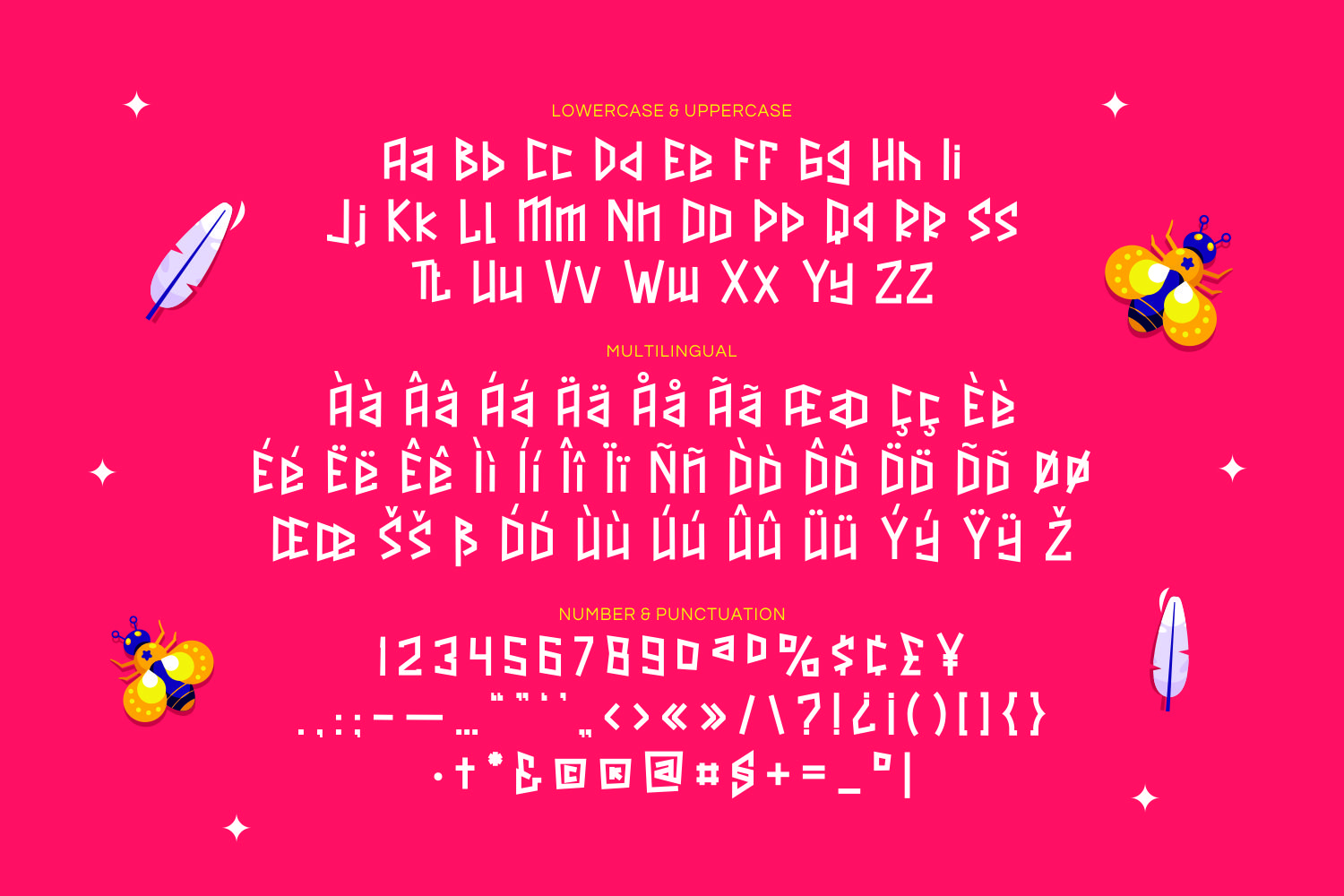 Crystalsky - Playful Display Font example image 2
