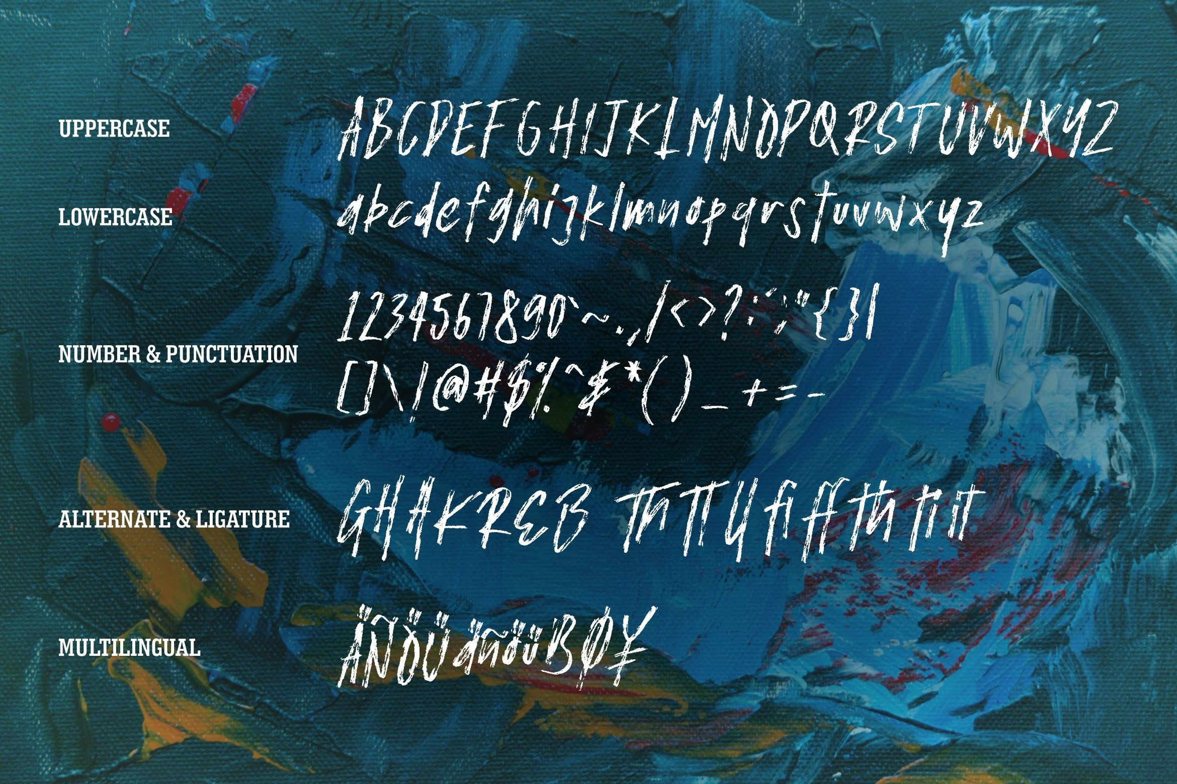 Menor - The Expresive Brush Font example image 5