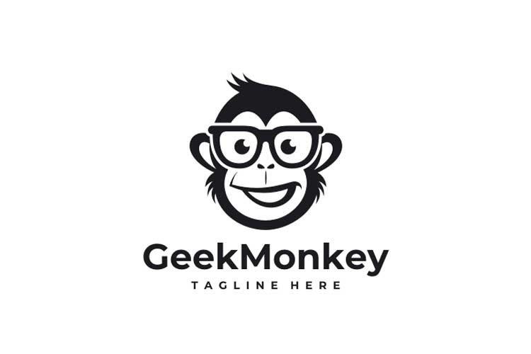Geek Monkey Logo example image 3