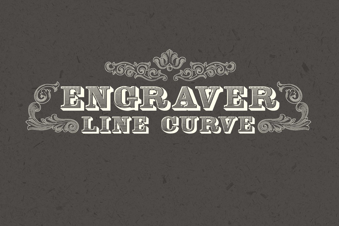 Engraver Font example image 1