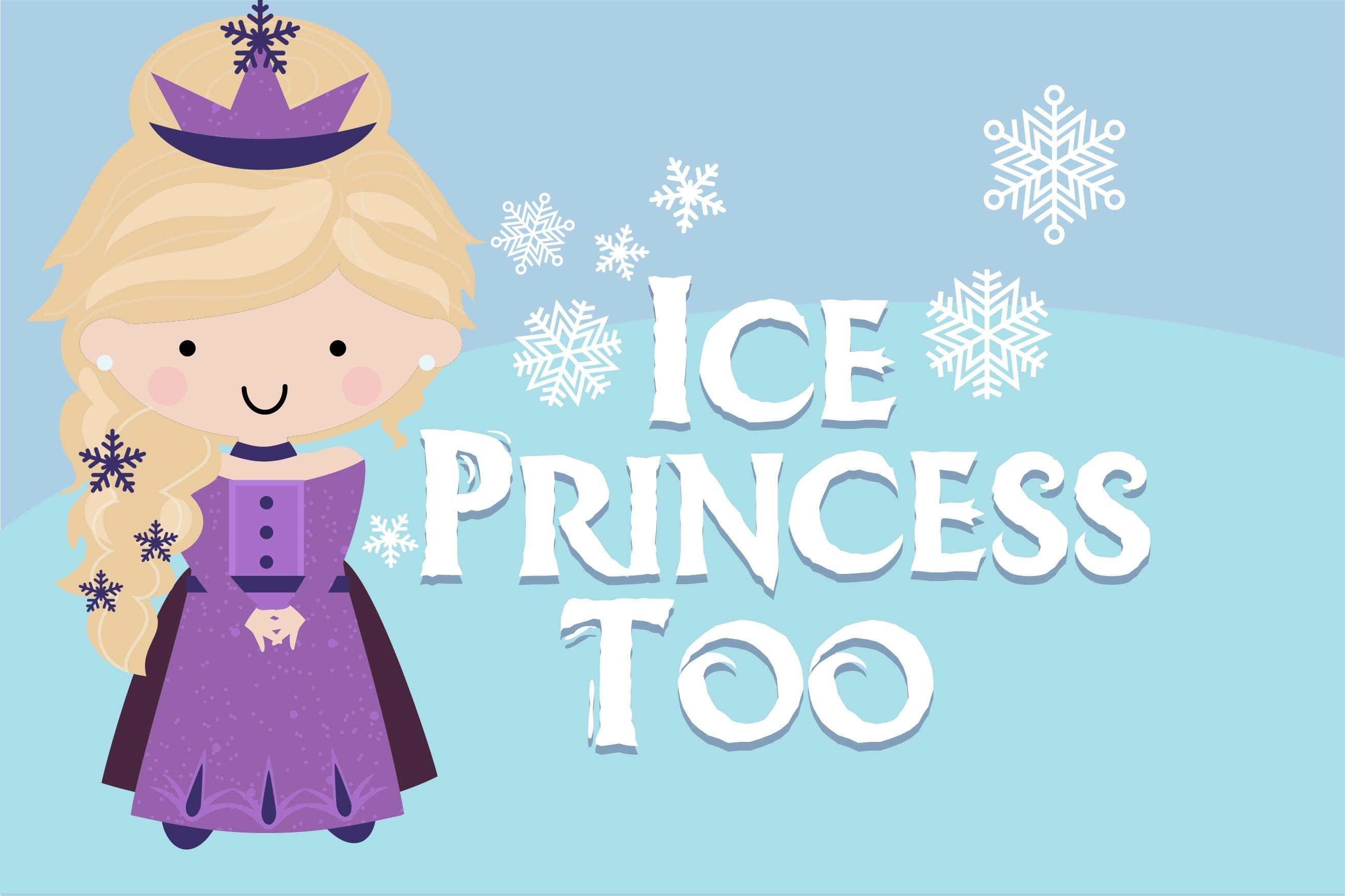 LD Ice Princess Font Duo example image 6