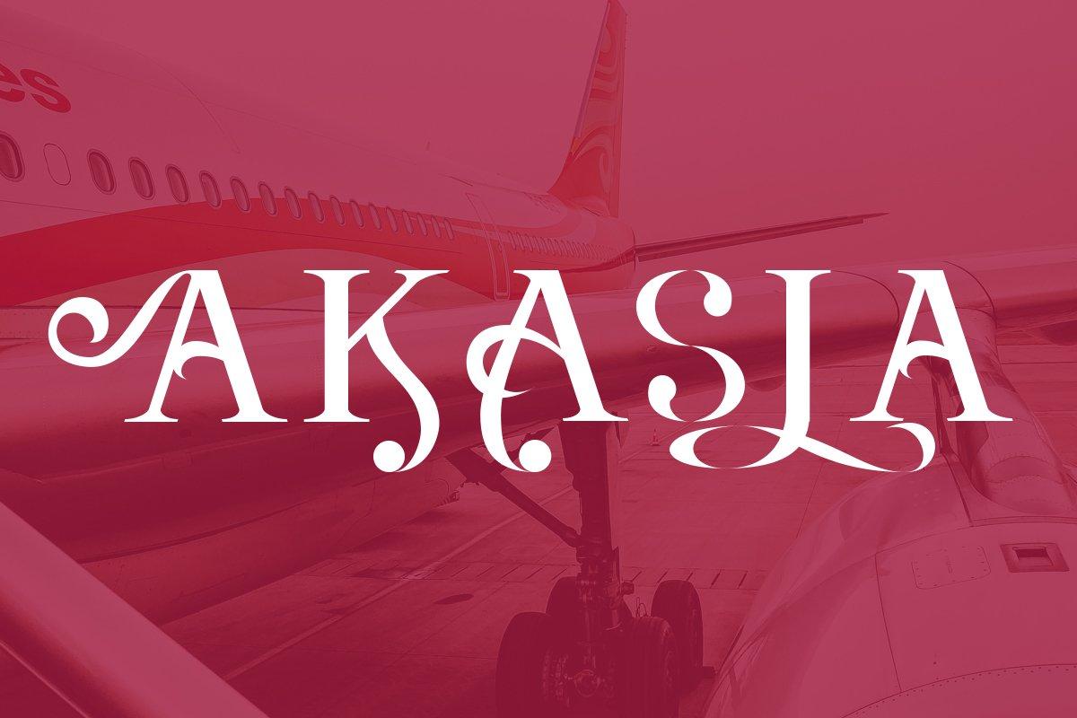 Agrasia | Serif Font example image 7