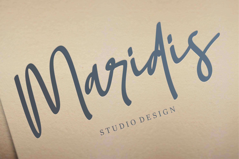 Soumatis - A Stylish Script Font example image 3