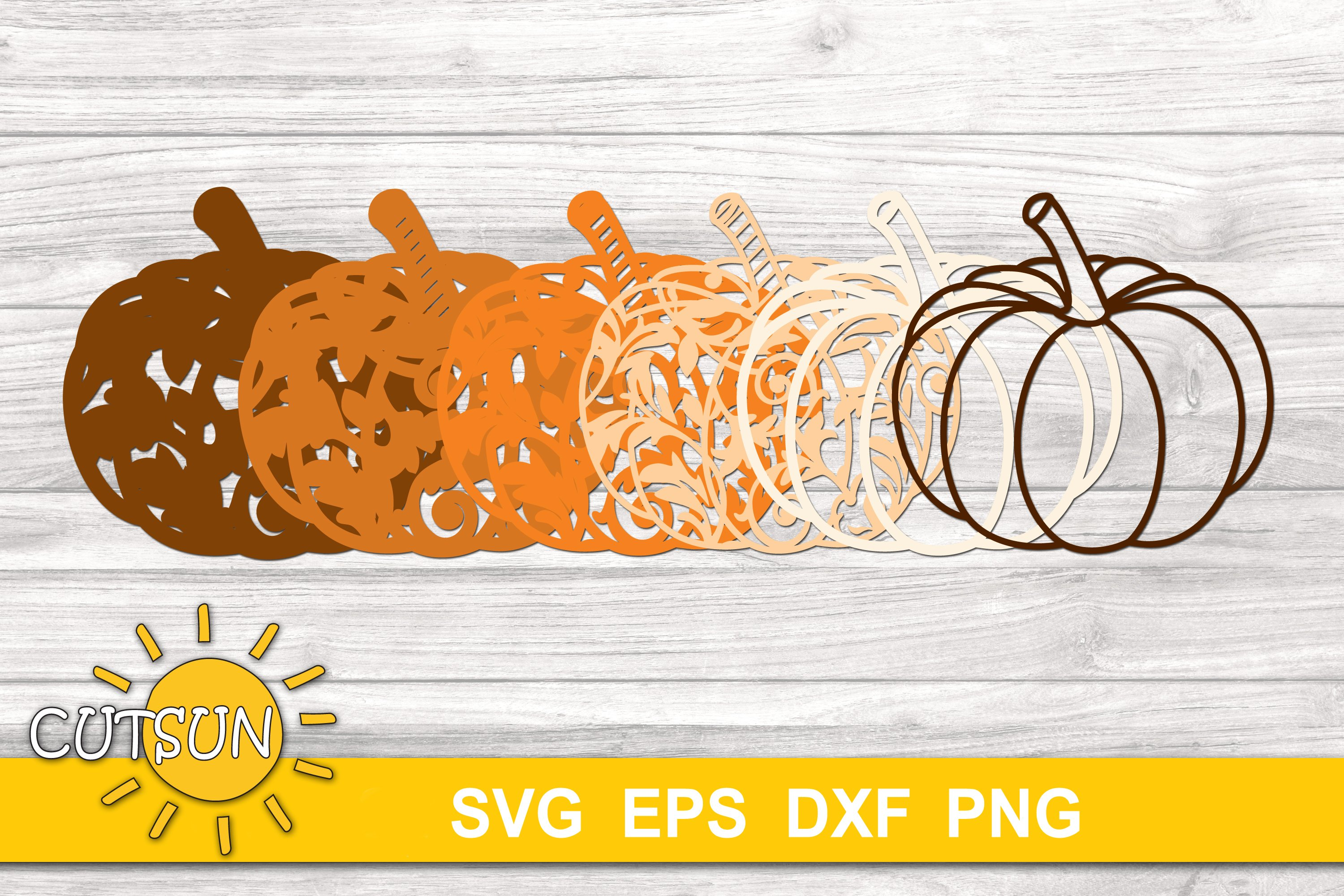2232+ Free Layered Pumpkin Svg – SVG,PNG,EPS & DXF File Include